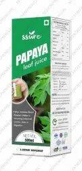 Herbal Papaya Leaf Juice for Dengue Fever 1000ml