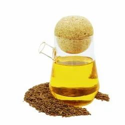 Mono Saturated Cold Pressed Flaxseed Oil, For Food