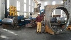 Large Components Inspection With Laser Tracker, For Industrial