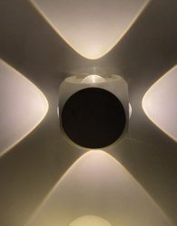 Plastic 4 Way LED Light, For Indoor, Input Voltage: 230 V