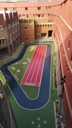 Outdoor Color Coated PU Sports Flooring