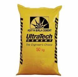 Grey Ultra Tech OPC Cement, Packaging Size: 50Kg