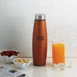 Bronze Stainless Steel Freezer Bottle 1000 Ml