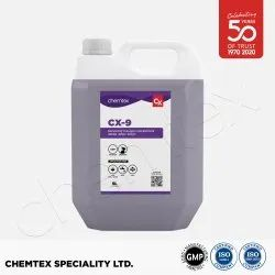 CHEMTEX CX-9 Bathroom Cleaner Liquid and Disinfectant Concentrate, Packaging Size: 5L