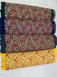 HEAVY WORK EMBROIDERED Fabric