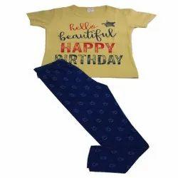 Women Casual Wear Scooboo branded kids pyjama set