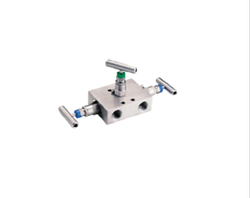 Stainless Steel 3-Valve Instrument Manifold System