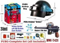 Multicolor Pubg Airdrop Bag Orignal Item Set Toy