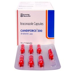 Candiforce Itraconazole 200mg Capsules, Non prescription, Treatment: Bacterial Infections