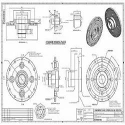 Designing 2D Cad Design Service, For Construction and machinary