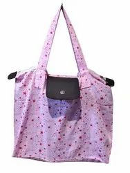 Folded Cotton Tote Bags