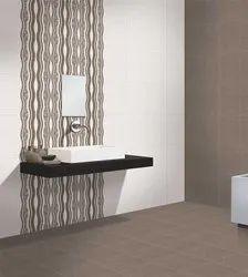 Kajaria Ceramic 30 X 45cm Digital Bathroom Wall Tiles, Thickness: 0-5 mm