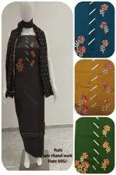 Mishthi Suits Cotton Ruhi Handwork Suit