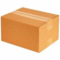 Brown Rectangular Plain Corrugated Box, Weight Holding Capacity (Kg): < 5 Kg, Size(LXWXH)(Inches): 15 X 10 X 10 Inches