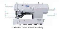 VI 1790 Vipac Electric Lock Stitch Button Holding Machine
