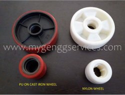 PU & Nylon Wheel Of Hand Pallet Truck