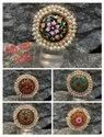 Tanjore Stone Ring