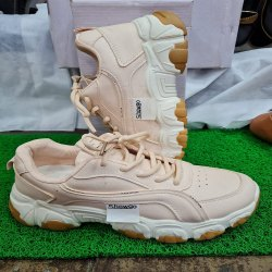 Peach Ladies Shoes