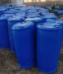 Blue 220 L HDPE Plastic Oil Barrel