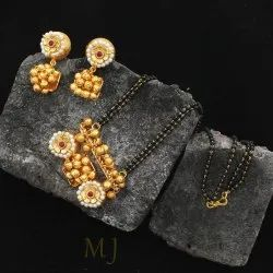 High Gold Plated Necklace Set