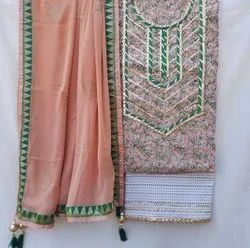 Banarasi Gota Patti Ladies Suit