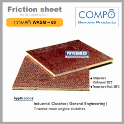 Industrial Friction Sheet