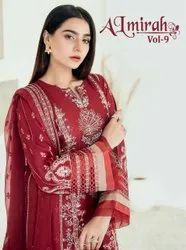 Shree Fab Almirah Vol 9 Lawn With Embroidery Pakistani Suit Catalog