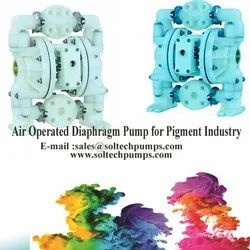 Air Operated Diaphragm Pump for Pigment Industry