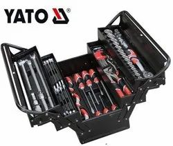 Yato Plastic Tool Box With Tools, For Agriculture, Size: 17 Inch