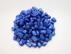 Aquarium Dark Blue Colour Pebble Stone