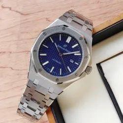 Round Luxury(Premium) Audemars Piguet Watches For Men, For Personal Use