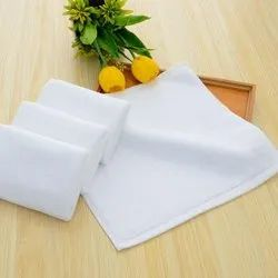 BSPL 100% Cotton Face White Hotel Towels, 400 TO 700 GSM, Size: 30 * 30