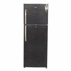 2 Star Rating Black Brushline Haier Double Door Refrigerator, Model Name/Number: HRF-3304BKS-E, Capacity: 310 Litres