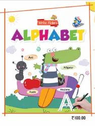 Children English White Riders Alphabet Picture Book, Ctc