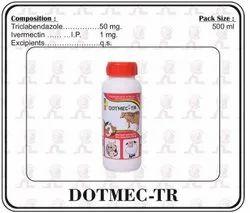 DOTMEC-TR Triclabendazole 50MG With Ivermectin 1MG Oral Suspension, Prescription