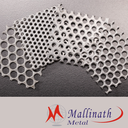 Oblong SS Perforated Sheet, 0.3 To 8.0 Mm