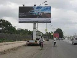 Advertising Big Hoarding