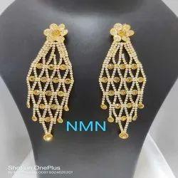 Beautiful LCD Long Earring Jewellery Set For Women And Girl Bijoux