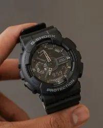 Analog Black G Shock GA-110-1B DR Watch for Man