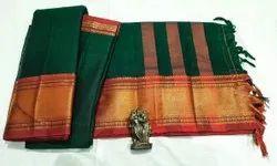 Cotton Unstitched Narayanpeth Suits