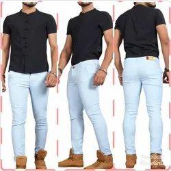 Mens Cotton Lycra Pant