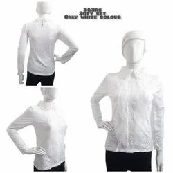 White Feather Imported Top