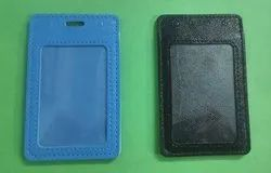 Leather Card Holder With Pocket