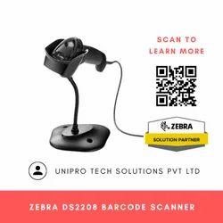 Zebra DS2208 Handheld Barcode Scanner