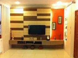 Wooden Wall Mounted Modular TV Cabinet, For Home