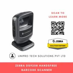 Zebra DS9208 Handsfree Barcode Scanner