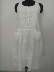 Cotton Casual Wear Ladies Western Dress