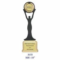 Wooden Womens Memento Trophy