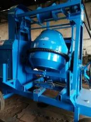 Concrete Mixer With Lifter Machine