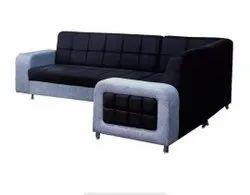 L Shape Modern Corner Sofa Set, For Home